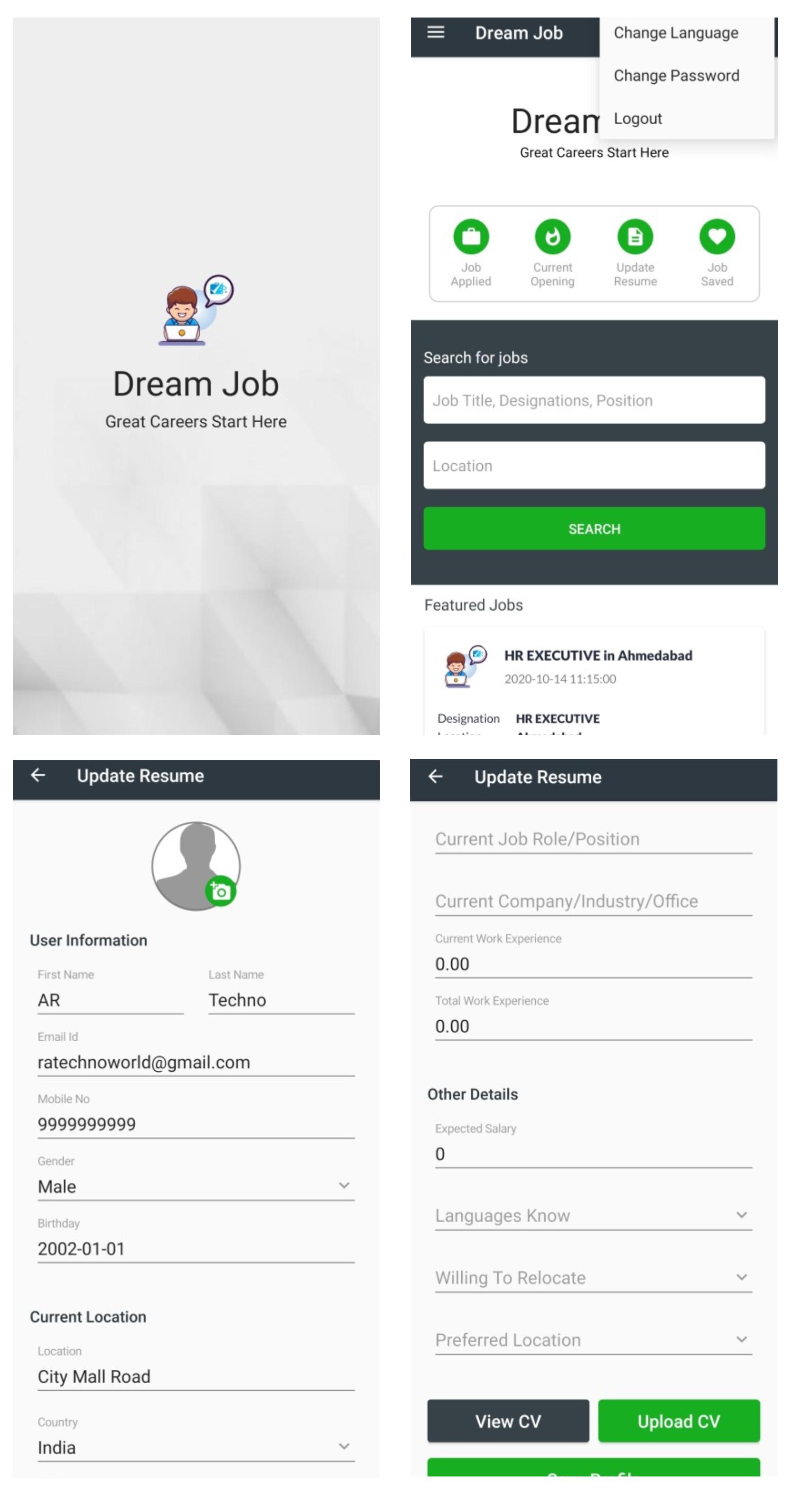 recruitment portal, best job seeker app