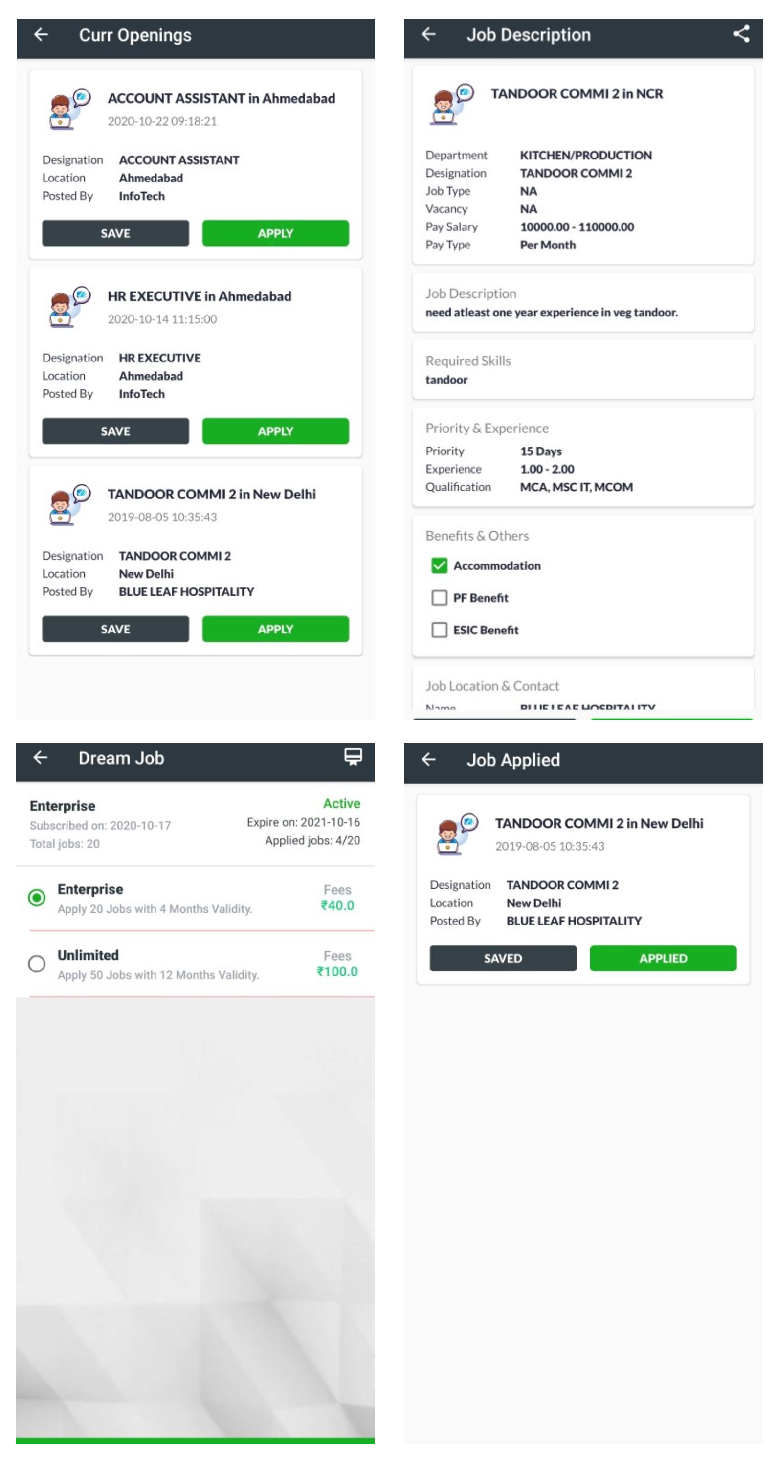 dream job, best jobseeker app